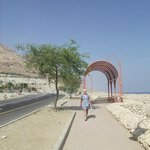 The road to the Dead Sea