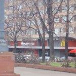 McDonald's 5 minutes away