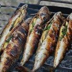 Рыбка-барбекю