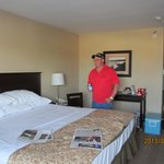 Great rooms, king size beds