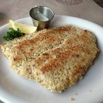 Pecan-crusted Trout: tasted awful! As if the fish has been sitting around for days before servin