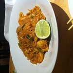 Pad Thai with Chicken & Shrimp