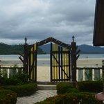 Gate to the beach
