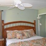 Tiki King Bed