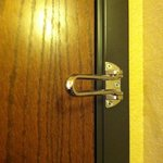 Where's the rest of the security latch?