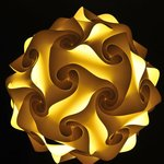 New interesting lamps make pleasant your evenings in some of doubles and triples