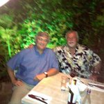 Dinner with my Brother on Our Medellin Colombia Tour