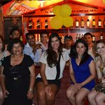 Latina Hostel board&staff. Our first picture together taken in our first anniversary
