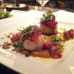 Seared scallops. Delish.
