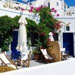 Balcony terrace..