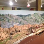 Working Model of Railroad Under Construction