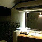 Salle de bain de nuit