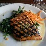 Overcooked salmon