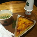 Quiche, Soup and Juice II