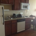 Suite Kitchen with Dishwasher and Stove