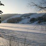 View to Tahko ski slopes