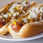 Detroit Coney Dogs with National Chili Sauce imported from Detroit MI