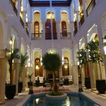 Inside Riad Lydines