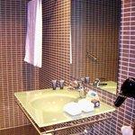 Detalle del cuarto de baño de la habitación 210