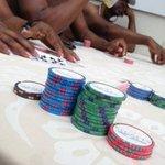 Blackjack by the pool!