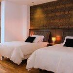 Double room at Casa Gardenia Quiot Hotel