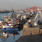 the waterfront in Mersin