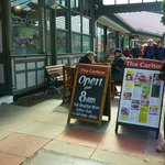 The Carlton Llandudno, open @ 8am for breakfast