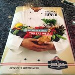 Menu.....the next generation diner
