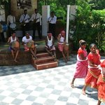 Folkloric dance and music at Goa Chitra Museum