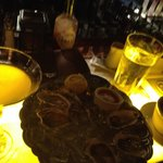 Oysters and Martinis