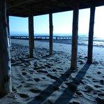 Beach 30 seconds walk