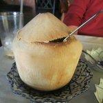 House dessert, Coconut Custard
