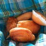 Bread at breakfast