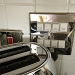 Clearly marked kitchen power switches