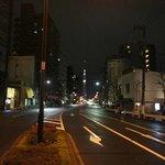 宿舎周辺から見える東京スカイツリー