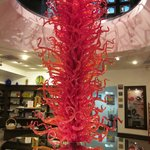 Chihuly at Philadelphia Museum of Glass Gift Shop just block down street