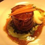 slow braised welsh lamb