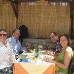 Almorzando en Lo Sfizio en Capri