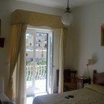 foto dell'interno della stanza