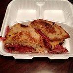 Best Reuben EVER! Black pastrami Reuben. Worth traveling 3000 miles for!