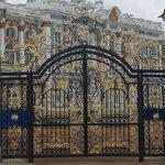 catherine palace gates