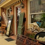 So many fun antique shops.  There's something for everybody