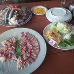 seafood, bbq