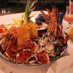 Seafood platter - practically inhaled it!