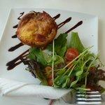 My Salmon & Asparagus Tart