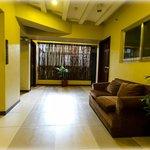 Hallways at Artina Suites & Hotel look like living rooms.