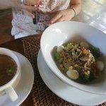 noodle soup (breakfast)