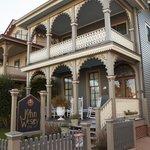front of john wesley inn