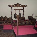 Some of the traditional instruments used for the music in the puppet concerts