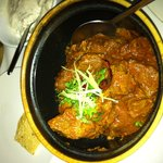The lamb with ginger